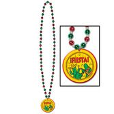 Cinco de Mayo Party Wear Fiesta Beads with Medallion Image