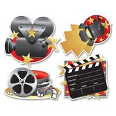 Awards Night & Hollywood Decorations Movie Set Cutouts Image