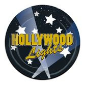 Awards Night & Hollywood Table Accessories Hollywood Lights Plates Image