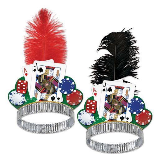 Casino Hats & Headwear Casino Night Tiara Image