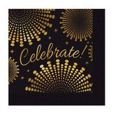 New Years Table Accessories Celebrate Beverage Napkins Image