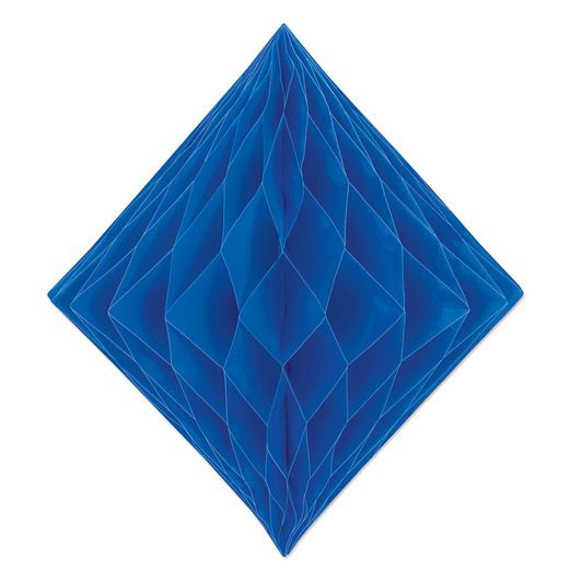 Decorations Blue Tissue Diamond Image
