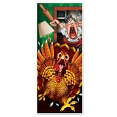 Thanksgiving Decorations Wild Turkey Door Cover Image