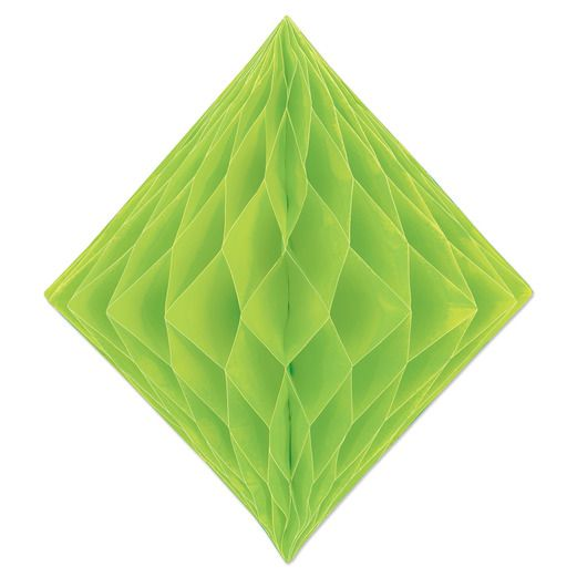 Decorations Tissue Diamond Light Green Image
