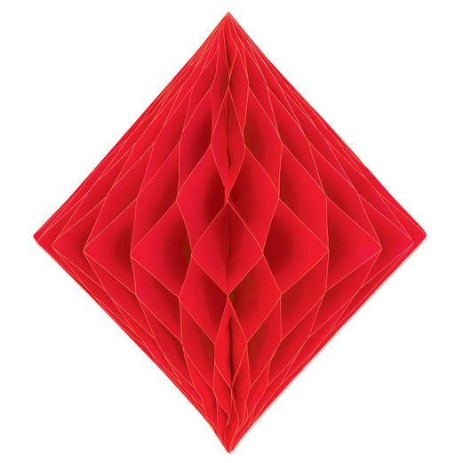 Decorations Red Tissue Diamond Image