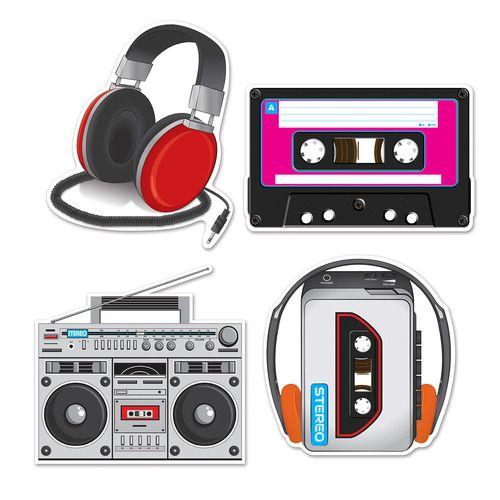 Cassette Player Cutouts
