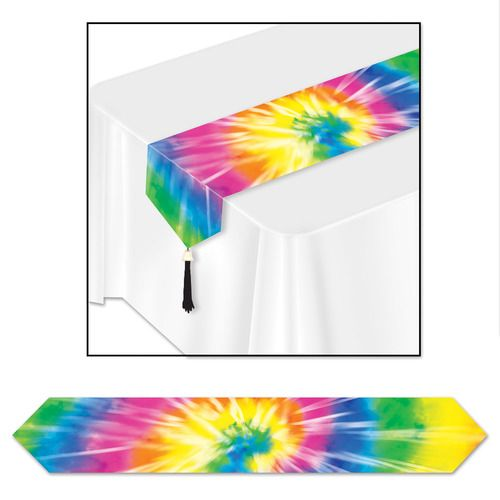 Tie-Dyed Table Runner