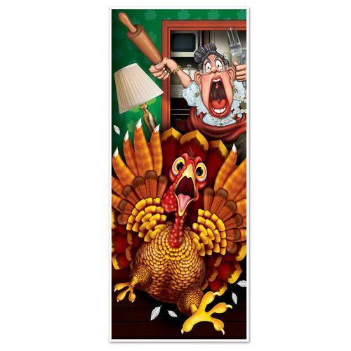 Wild Turkey Door Cover