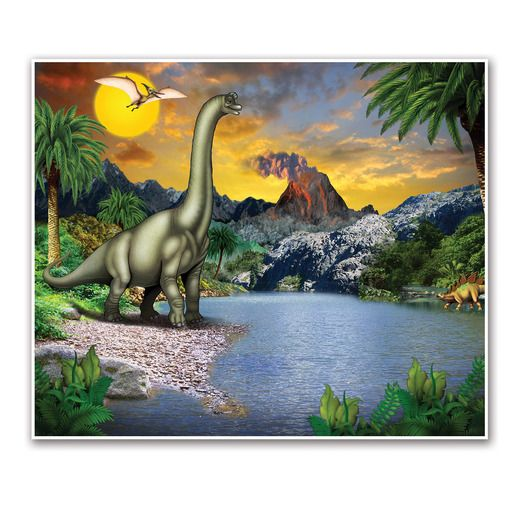 Birthday Party Decorations Dinosaur Insta Mural Image