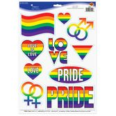 Decorations Pride Peel N Place Image
