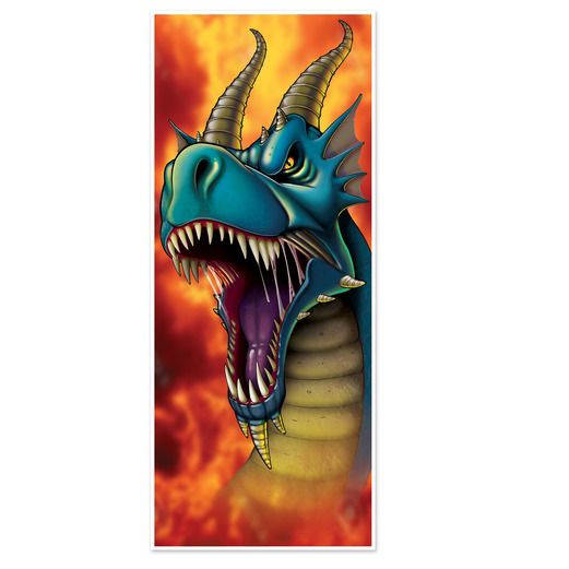 Decorations Dragon Door Cover Image