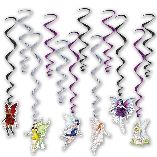 Birthday Party Decorations Fairy Whirls Image