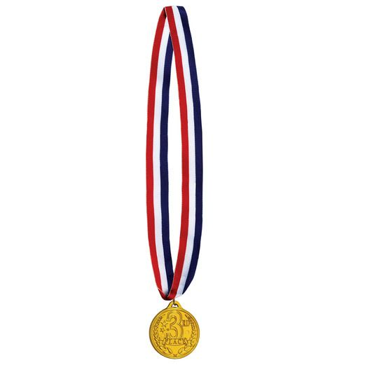 Sports Favors & Prizes 3rd Place Medal Ribbon Image