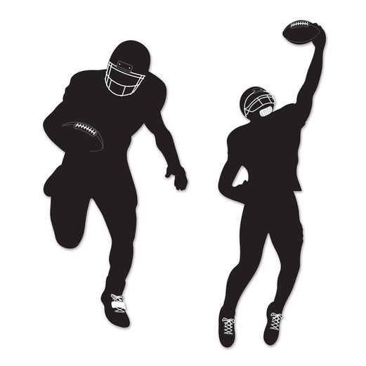 Sports Decorations Football Silhouettes Image