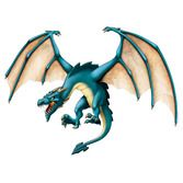Birthday Party Decorations Jointed Dragon Image