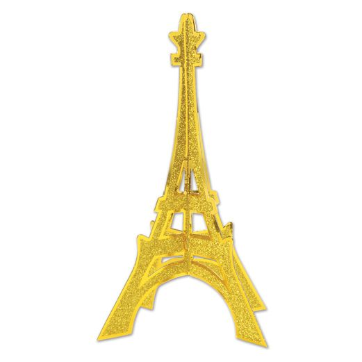 International Decorations 3D Eiffel Tower Centerpiece Image
