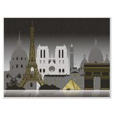 International Decorations Paris City Scape Image