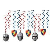 Birthday Party Decorations Medieval Whirls Image
