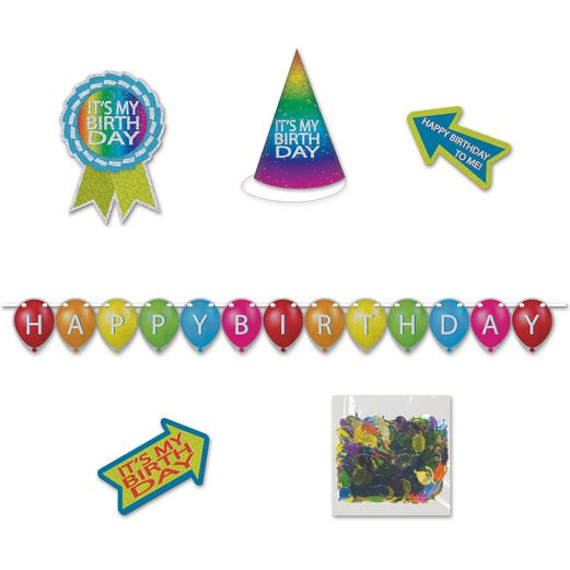 Birthday Party Decorations Birthday Desktop Party Kit Image