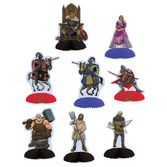 Birthday Party Decorations Medieval Mini Centerpieces Image
