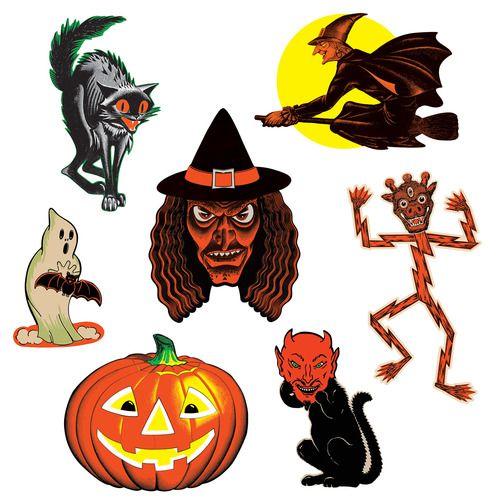 Vintage Halloween Classic Cutouts