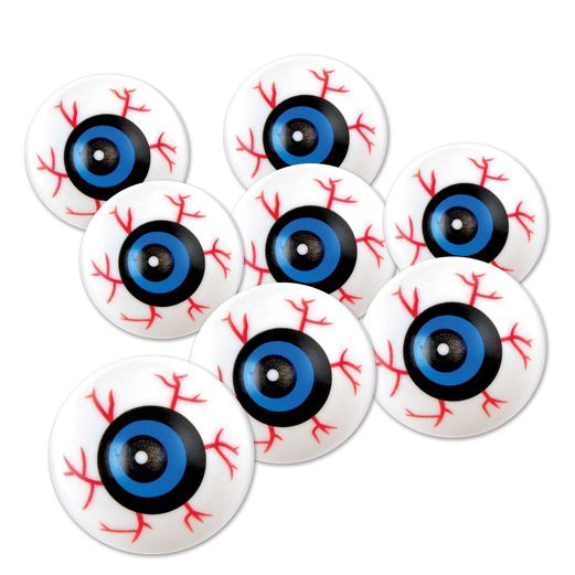 Halloween Favors & Prizes Eyeballs Image