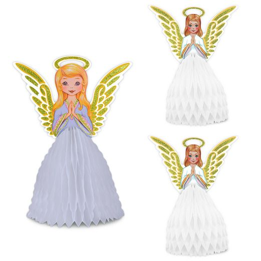 Christmas Decorations Vintage Christmas Angel Centerpieces Image