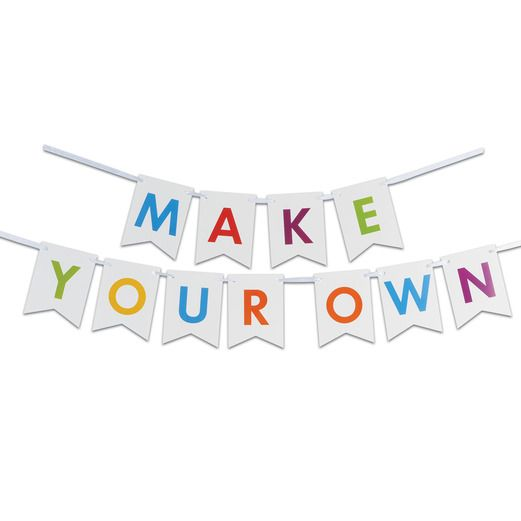 Decorations Letter Streamer Kit Image