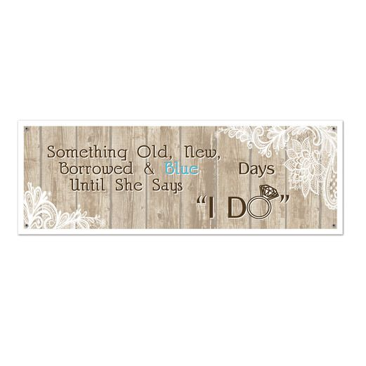Wedding Decorations Rustic Wedding Sign Banner Image