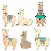 Birthday Party Decorations Llama Cutouts Image