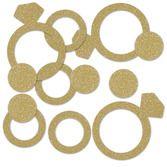 Wedding Decorations Diamond Ring Confetti Image