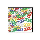 New Years Decorations 2020 Metallic Confetti Image