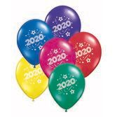 New Years Balloons 2020 Multicolor Balloons Image