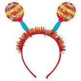 Fiesta Hats & Headwear Maracas Shaker Headband Image