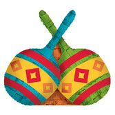 Fiesta Decorations Mini Maraca Pinata Image