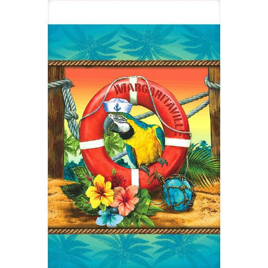 Luau Table Accessories Margaritaville Plastic Tableco Image