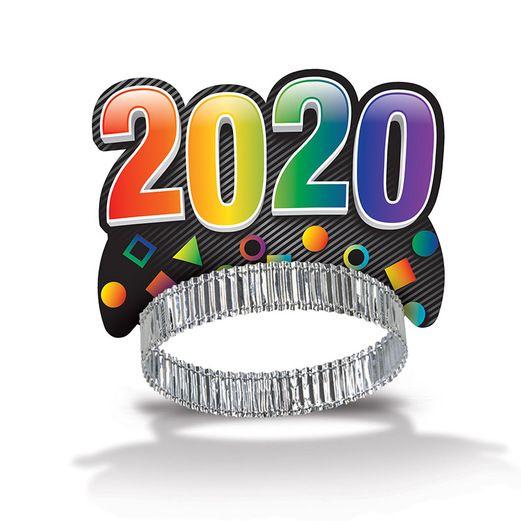 New Years Hats & Headwear 2020 Midnight Tiara Image