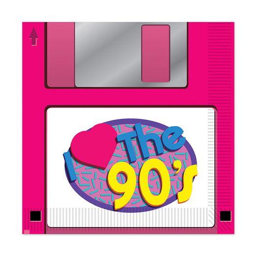 90's Floppy Disk Lunch Napkins
