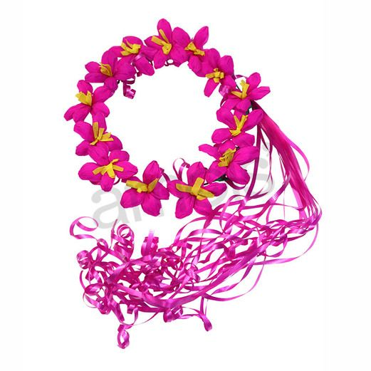 Hot Pink Flower Crown