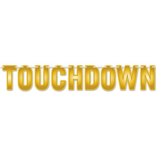 Sports Decorations Touchdown Streamer Image