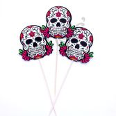 Decorations Sugar Skull Picks  Image