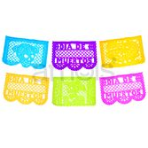 Day of the Dead Decorations Dia de los Muertos Large Paper Picado Image