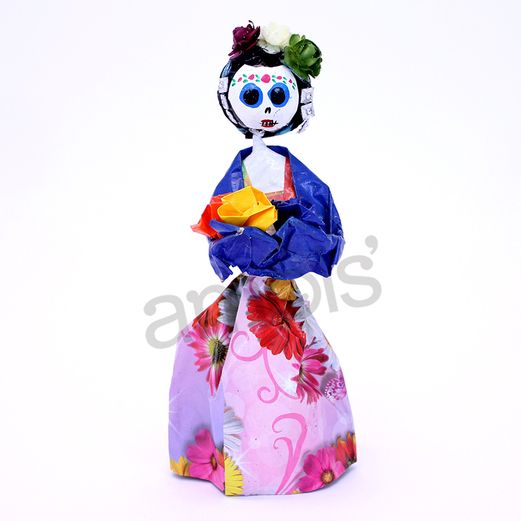 Decorations Day of the Dead Frida Medium Figurine Image