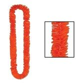 Halloween Party Wear Orange Lei Image