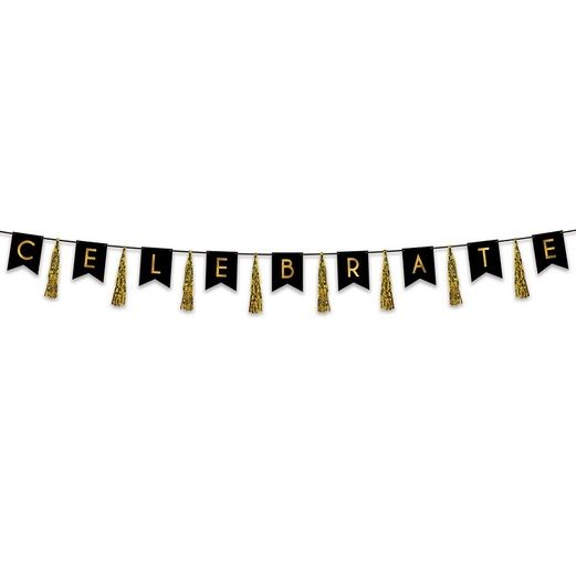 Awards Night & Hollywood Decorations Celebrate Tassel Streamer Image
