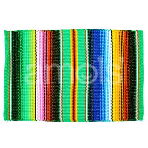 Table Accessories Green Serape Place Mat Image