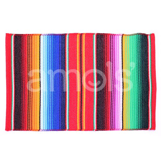 Table Accessories Red Serape Place Mat Image
