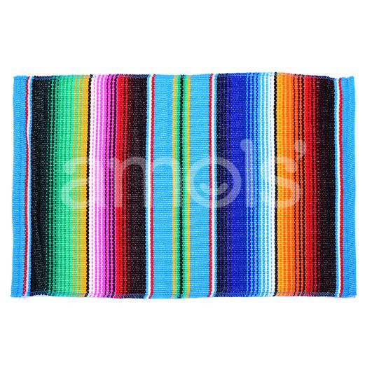 Table Accessories Turquoise Serape Place Mat Image