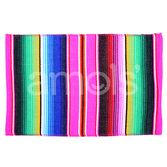 Table Accessories Hot Pink Serape Place Mat Image