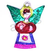 Christmas Decorations Angel Tin Ornament Image